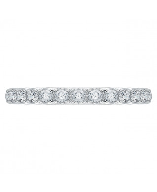 Carizza - 18K Two-Tone Gold 1/3 Ct Diamond Wedding Band