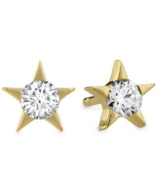 Illa Diamond Stud Earrings