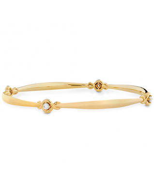 Optima Four Station Diamond Bangle
