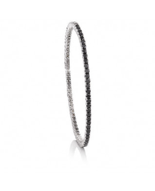 BLACK DIAMOND FLEX BANGLE