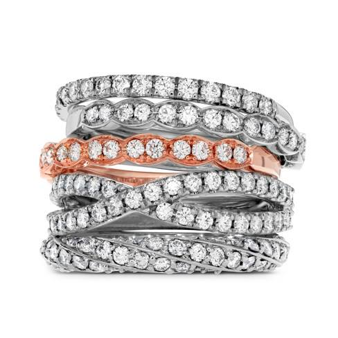 Hearts On Fire Wedding Bands at David's Ltd. Jewelers> http://buff.ly/1Z1vuU2