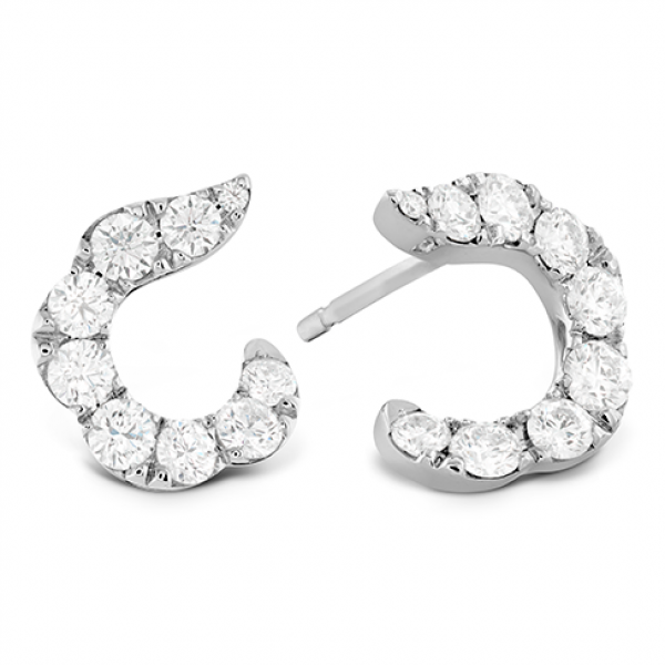 Lorelei Crescent Diamond Earrings> http://buff.ly/1Z1KSzQ