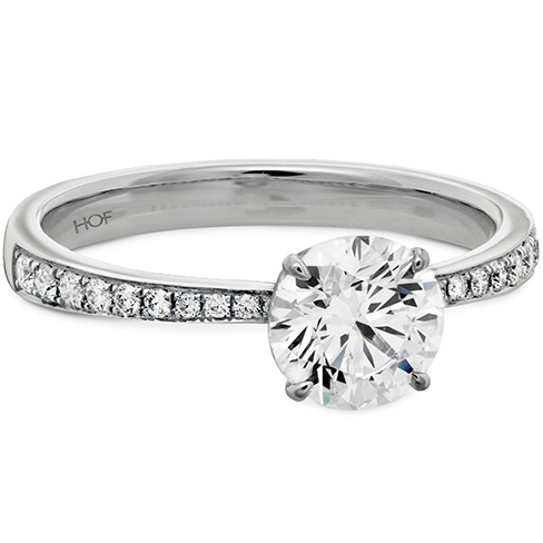 Hearts on Fire Classic engagement ring