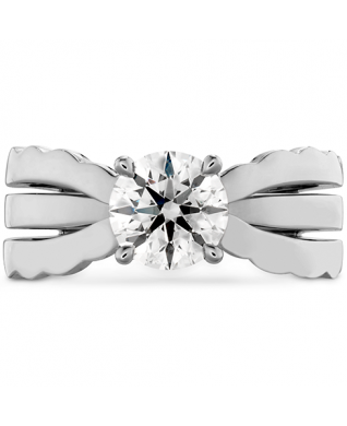 Lorelei Triple Row Solitaire Engagement Ring