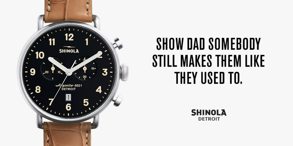 Shinola -father's day-email blast