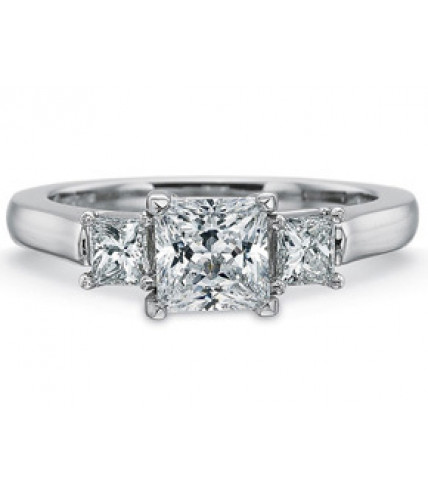 Engagement Rings-Three Stone