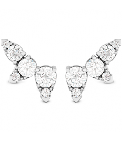 Aerial Diamond Ear Vine Earrings