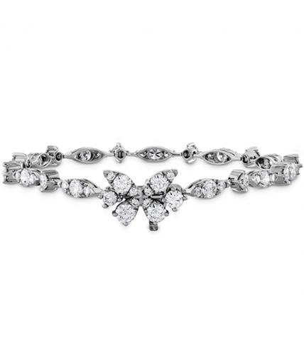 Aerial Diamond Line Bracelet