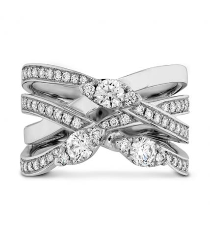 Aerial Diamond Right Hand Ring