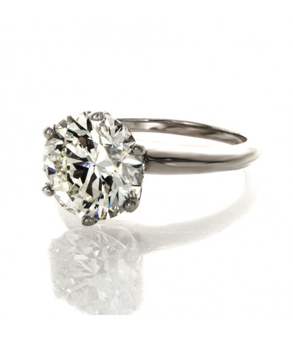 BRIALLIANT CUT DIAMOND 3.41 CT