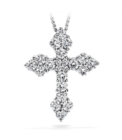 Divine Byzantine Cross Pendant Necklace