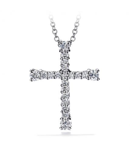 Divine Cross Pendant Necklace