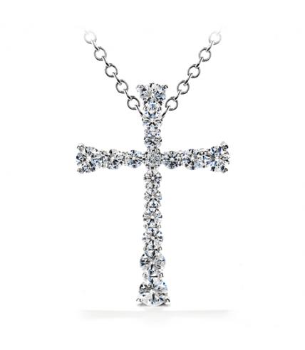Divine Journey Cross Pendant Necklace