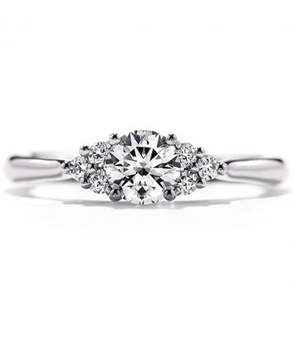Felicity Queen Anne Engagement Ring