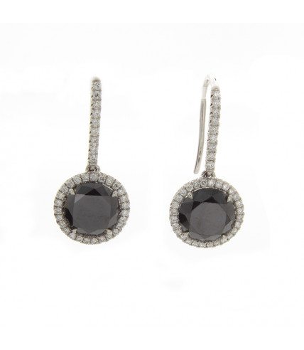 BRILLIANT BLACK DIAMONDS 3.21 CT