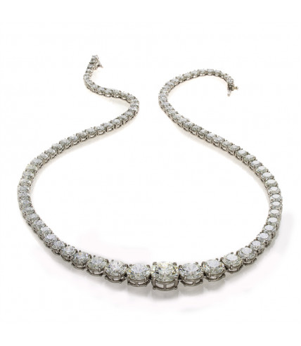 TENNIS NECKLACE 28.33 CARATS