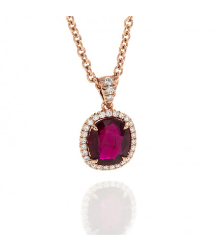 CUSHION RUBY 2.04 CT