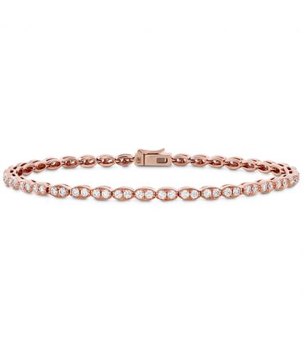 Lorelei Floral Diamond Line Bracelet - S