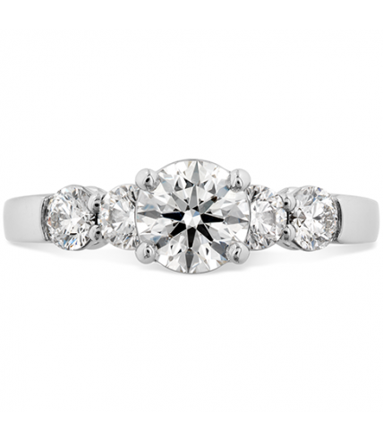 Multiplicity Love 5 Stone Engagement Ring