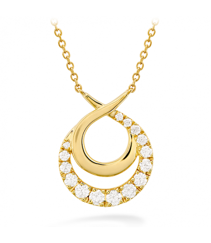 Optima Double Circle Necklace