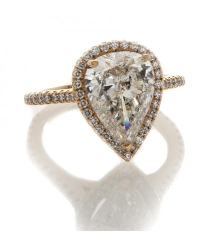 PEAR SHAPE DIAMOND 2.79 CT