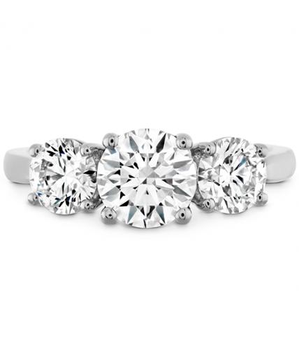 Simply Bridal Three Stone Setting