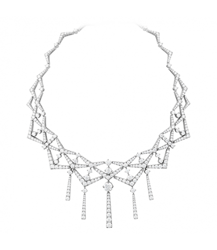 Triplicity Diamond Collar