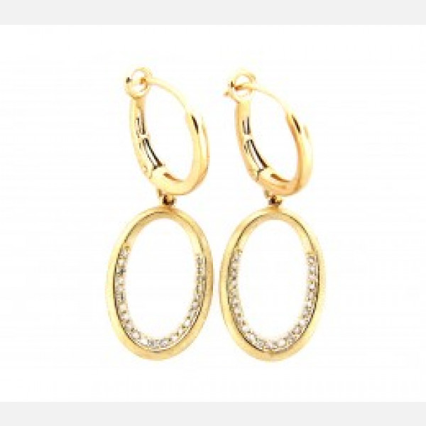 Dilamani Diamond Earrings 14 Karat Gold