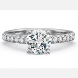 Engagement Rings-Prong Set