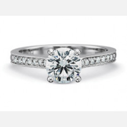 Engagement Rings-Bead Set