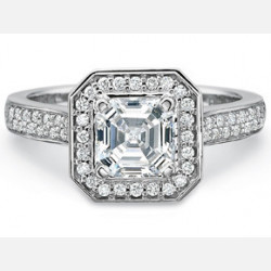 Engagement Rings-Pave Top