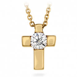 Charmed Cross Pendant