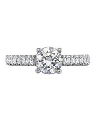 Engagement Rings-Prong Set