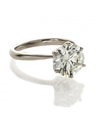 BRILLIANT CUT DIAMOND 2.50 CT