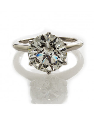 BRILLIANT CUT DIAMOND 3.83 CT