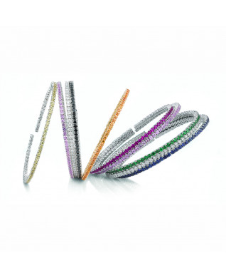 GEMSTONE FLEX BANGLES