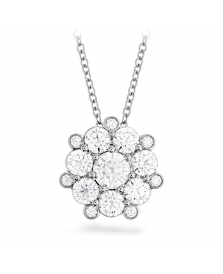 Beloved Cluster Diamond Pendant