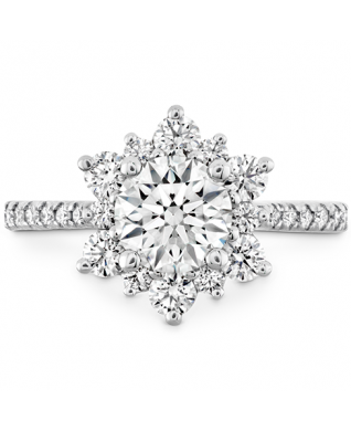 Delight Lady Di - Diamond Band Setting