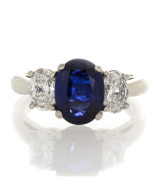 OVAL SAPPHIRE 2.24 CT