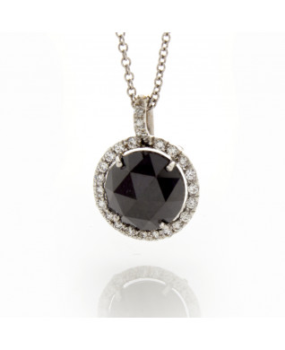 BRILLIANT BLACK DIAMOND 3.14 CT