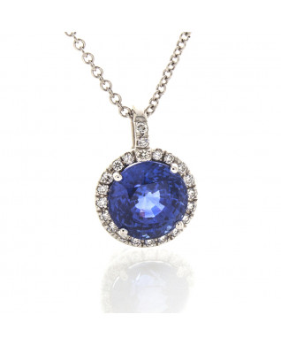 BLUE SAPPHIRE 3.47 CTS