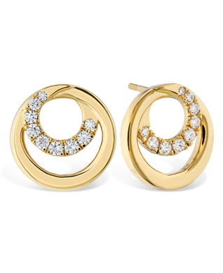Optima Circle Earrings