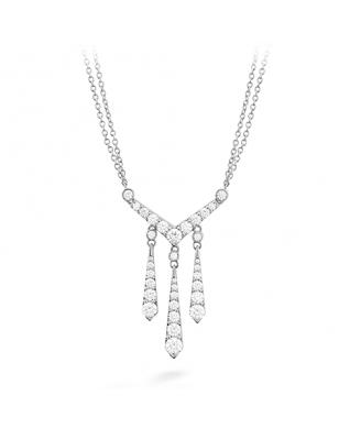 Triplicity Drop Necklace