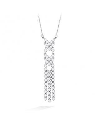 Triplicity Fringe Necklace