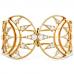 Triplicity Golden Cuff
